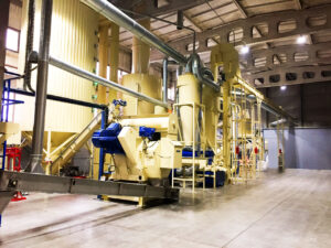 Baltic Biogran, produttore di pellet ENplus A1 in Lettonia LV007