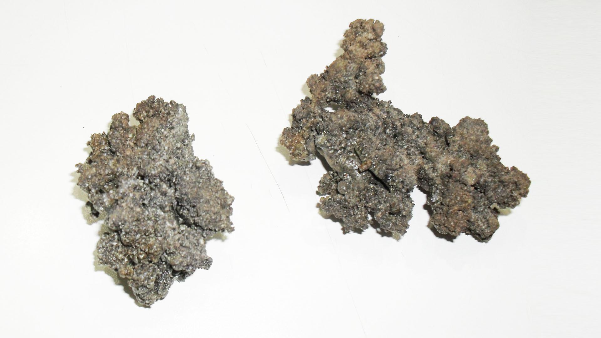 Clinker, residuo silicico duro del pellet