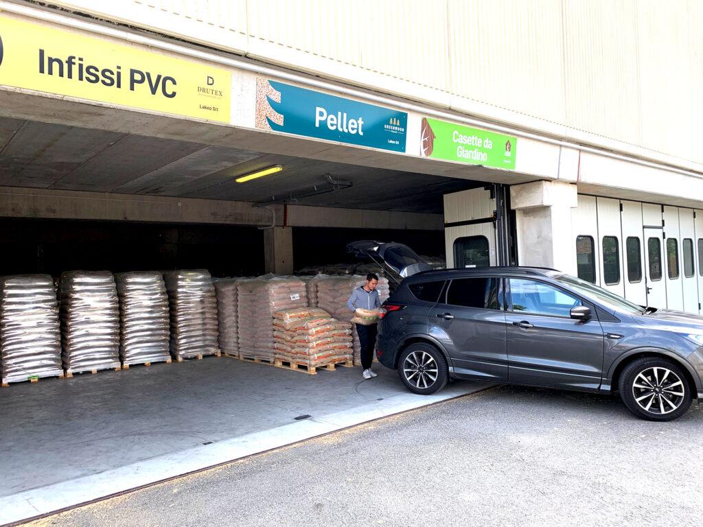 Green Wood Pellet, magazzino vendita pelleta per Novara e Vercelli