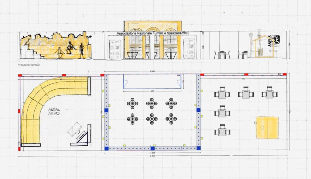 Convegni Stand-Arena ANFUS a Progetto Fuoco 2020